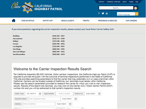 Bit Update A New Way To Check Carrier Inspection Results